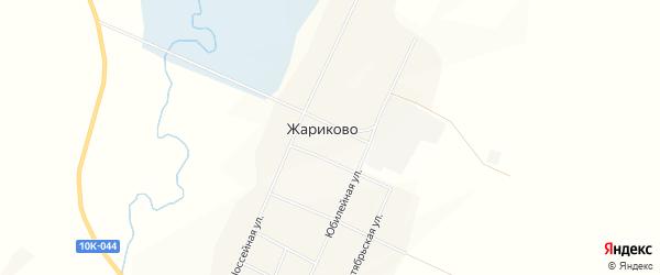 Карта села Жариково в Амурской области с улицами и номерами домов