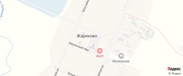 Молодежная улица на карте села Жариково с номерами домов