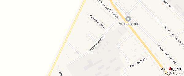 Переулок Арсеньева на карте села Тамбовки с номерами домов