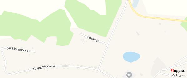 Новая улица на карте села Новоалексеевки с номерами домов