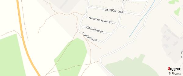 Грибная улица на карте Свободного с номерами домов