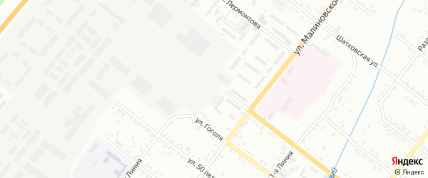 Улица 3-я Линия на карте Свободного с номерами домов