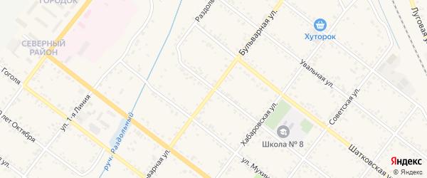 Улица Лермонтова на карте Свободного с номерами домов