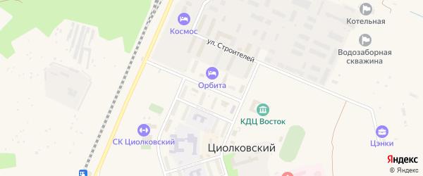 Улица Маршала Неделина на карте поселка Углегорска с номерами домов