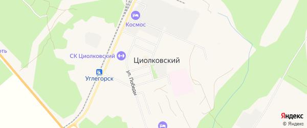 Карта поселка Углегорска в Амурской области с улицами и номерами домов