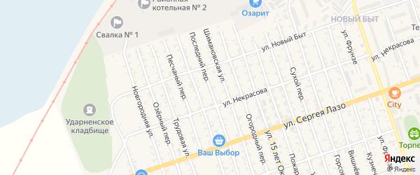 Последний переулок на карте Свободного с номерами домов