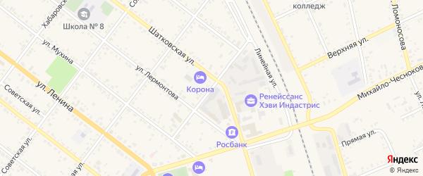 Улица Чернышевского на карте Свободного с номерами домов