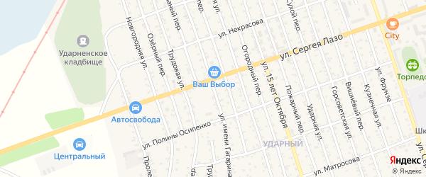 Улица Гагарина на карте Свободного с номерами домов