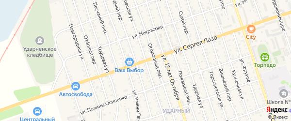 Шимановская улица на карте Свободного с номерами домов