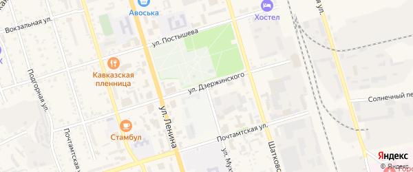 Улица Мухина на карте Свободного с номерами домов
