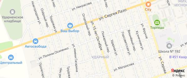 Улица Полины Осипенко на карте Свободного с номерами домов