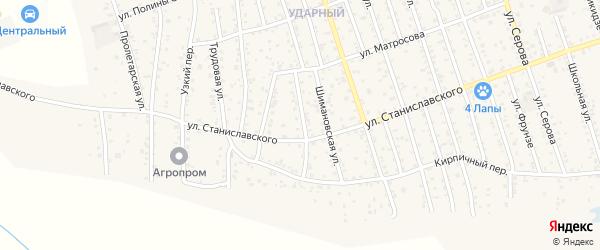 Улица Б.Хмельницкого на карте Свободного с номерами домов