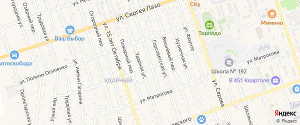 Сухой переулок на карте Свободного с номерами домов