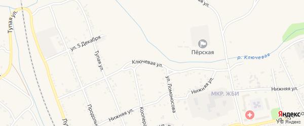Ключевая улица на карте Свободного с номерами домов