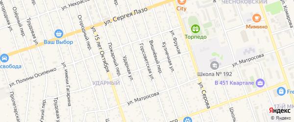 Горсоветская улица на карте Свободного с номерами домов