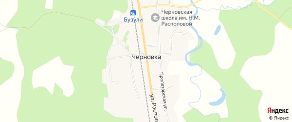 Карта села Черновки в Амурской области с улицами и номерами домов