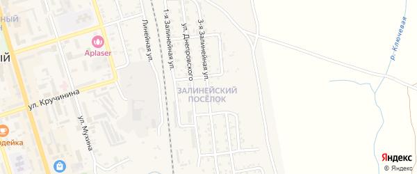3-я Залинейная улица на карте Свободного с номерами домов