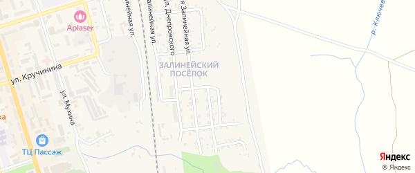 4-я Залинейная улица на карте Свободного с номерами домов