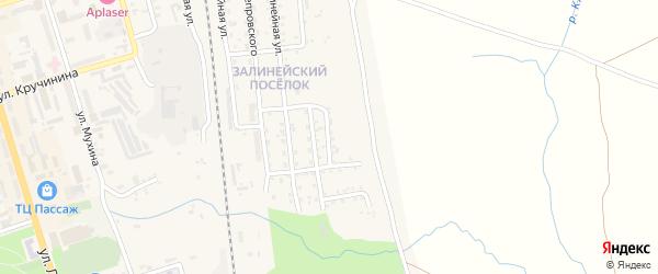 5-я Залинейная улица на карте Свободного с номерами домов