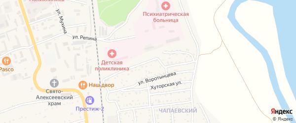 Улица Мерсона на карте Свободного с номерами домов