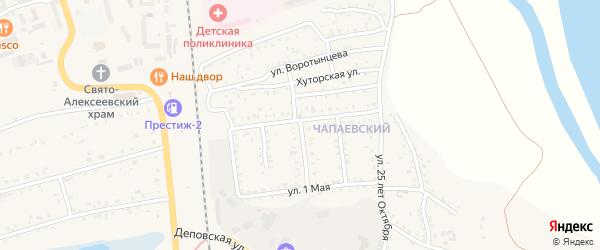 Строительная улица на карте Свободного с номерами домов