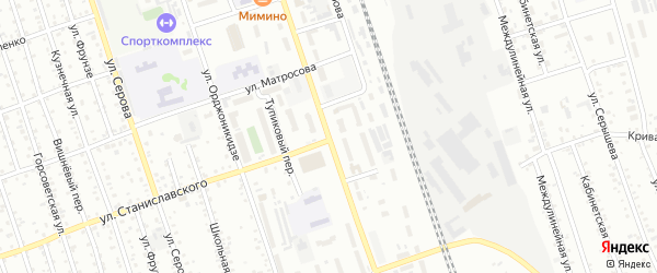 Октябрьская улица на карте Свободного с номерами домов