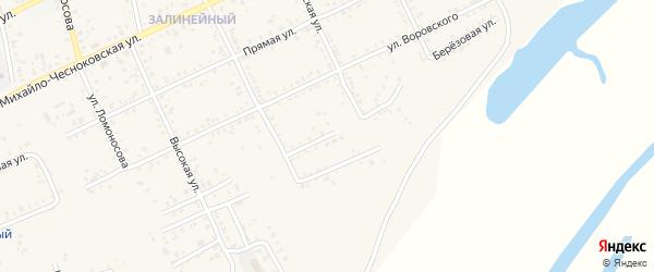 Березовая улица на карте Свободного с номерами домов