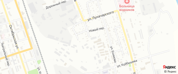 Улица Серышева на карте Свободного с номерами домов