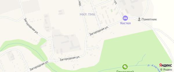Загородная улица на карте Свободного с номерами домов