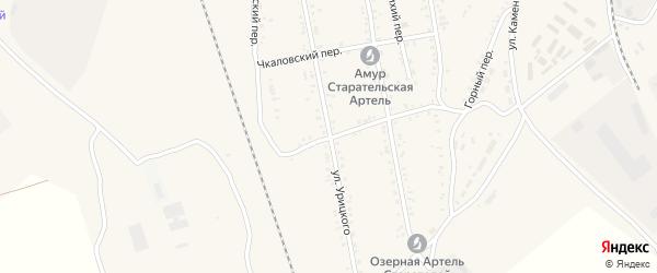 Улица Урицкого на карте Свободного с номерами домов