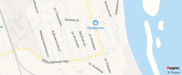 Улица Блюхера на карте Свободного с номерами домов