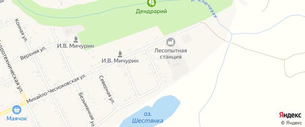 Садовая улица на карте Свободного с номерами домов