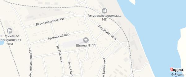 Улица Каменчука на карте Свободного с номерами домов