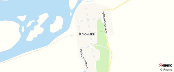 Карта села Ключики в Амурской области с улицами и номерами домов