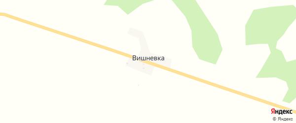 Садовая улица на карте села Вишневки с номерами домов