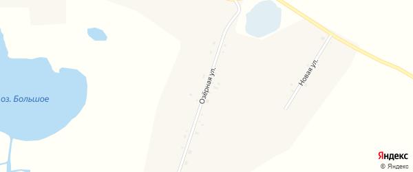 Озерная улица на карте села Лохвицы с номерами домов