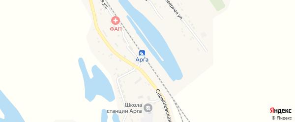 Улица Мухина на карте станции Арги с номерами домов