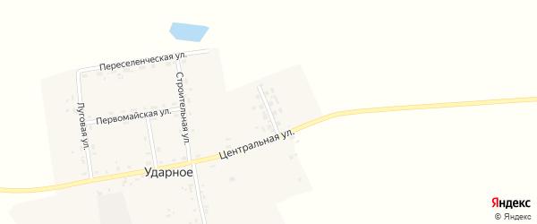 Новая улица на карте Ударного села с номерами домов