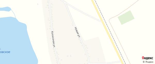Новая улица на карте села Белоногово с номерами домов