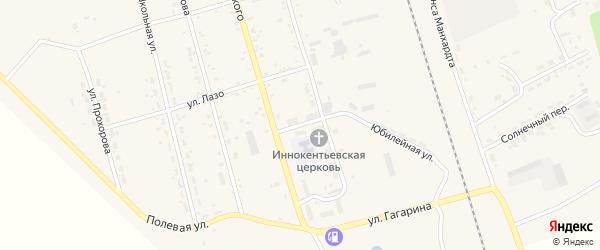 Монтажная улица на карте поселка Серышево с номерами домов