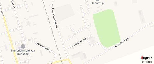 Строительная улица на карте поселка Серышево с номерами домов