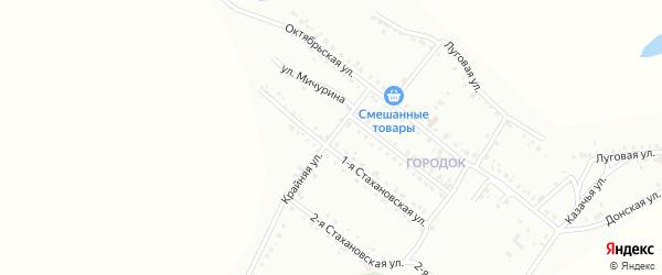 Крайняя улица на карте Белогорска с номерами домов