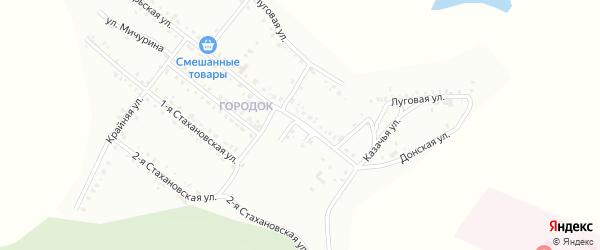 Улица Лазо на карте Белогорска с номерами домов