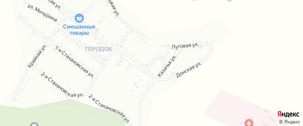 Трудовая улица на карте Белогорска с номерами домов