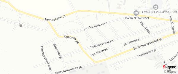 2-й Кирпичный переулок на карте Белогорска с номерами домов