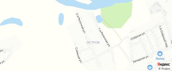 2-я Релочная улица на карте Белогорска с номерами домов