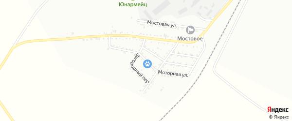 Моторная улица на карте Белогорска с номерами домов