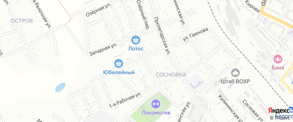 Международная площадка на карте Белогорска с номерами домов