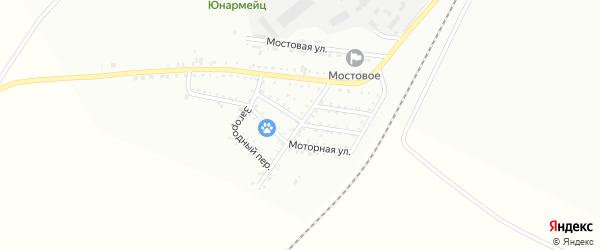 Загородняя улица на карте Белогорска с номерами домов