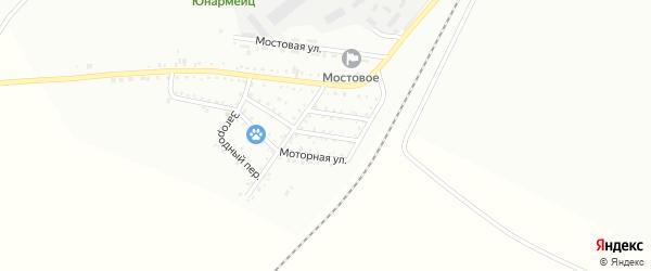 2-й Авиационный переулок на карте Белогорска с номерами домов